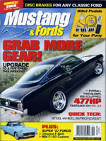 Mustang and Fords Cover