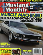 Mustang Monthly Cover